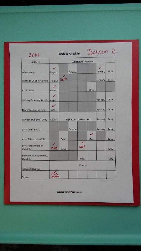 Classroom Environment Checklist CLI Engage Public